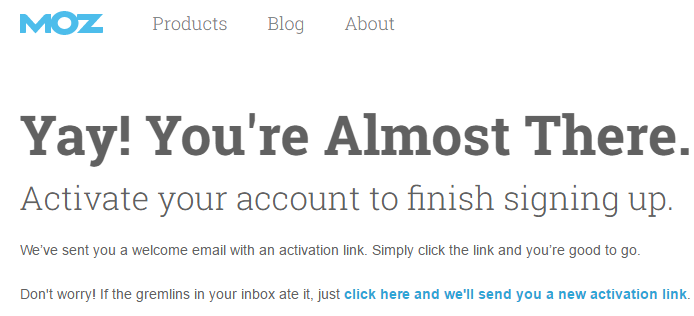 moz account signup