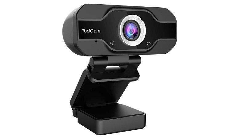 TedGem 1800P Full HD Webcam